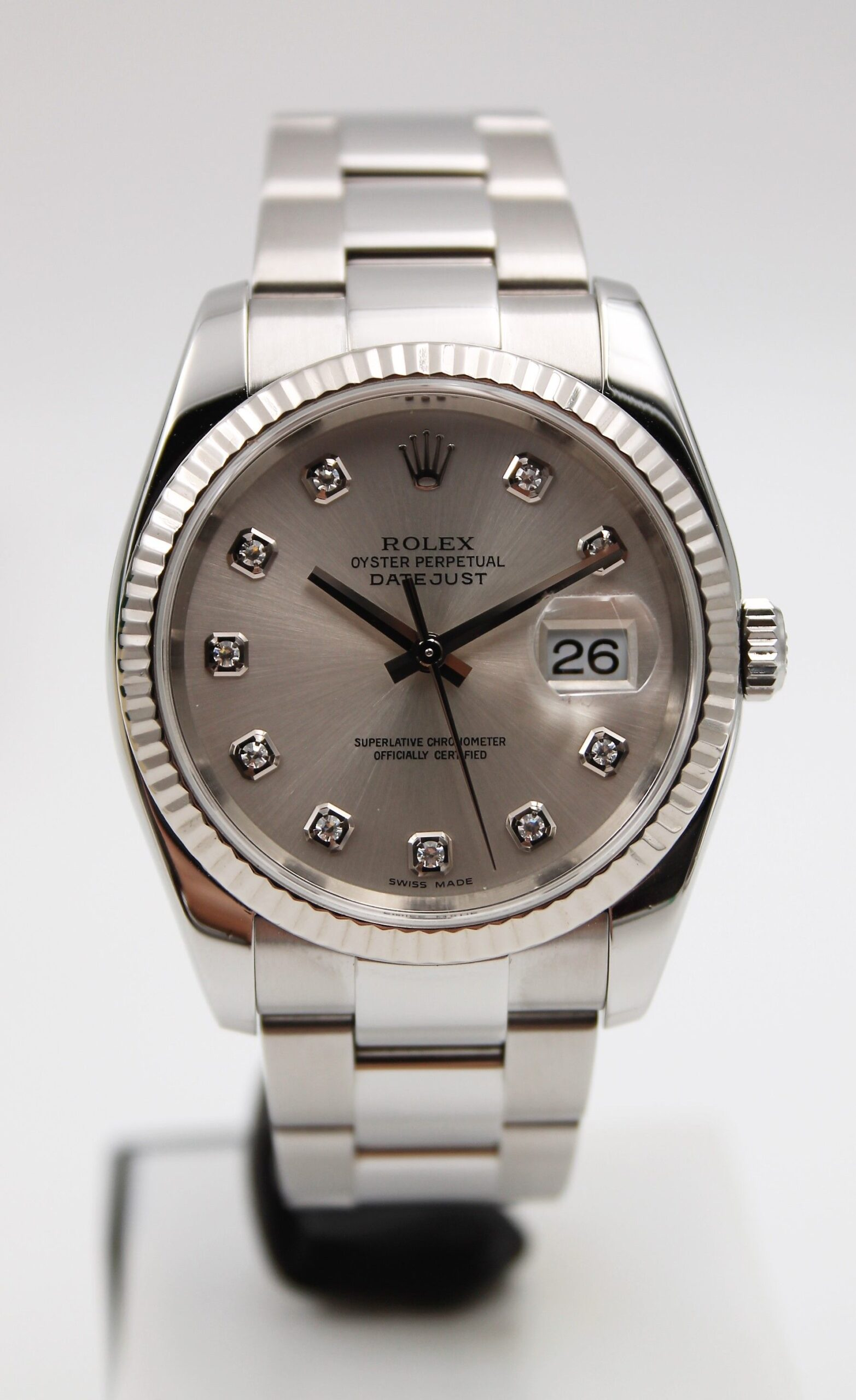 Rolex Datejust 116234 Diamonds Dial